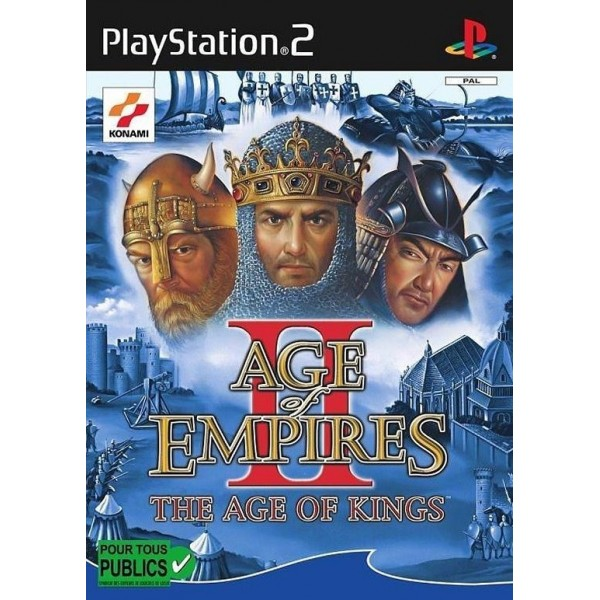 AGE OF EMPIRE II: THE AGE OF KINGS SANS NOTICE PS2 PAL-FR OCCASION