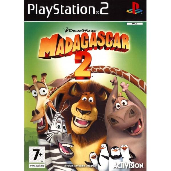MADAGASCAR 2 PS2 PAL-FR OCCASION