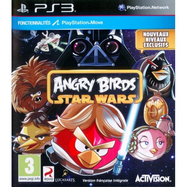 ANGRY BIRDS STAR WARS PS3 FR OCCASION