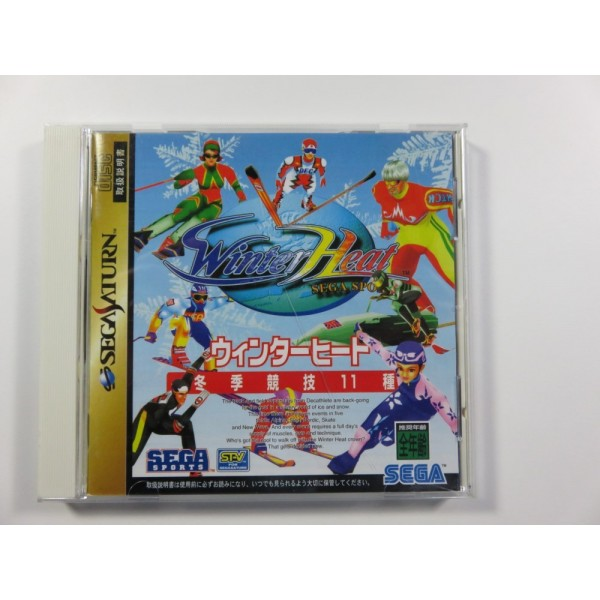 WINTER HEAT SEGA SATURN NTSC-JPN OCCASION