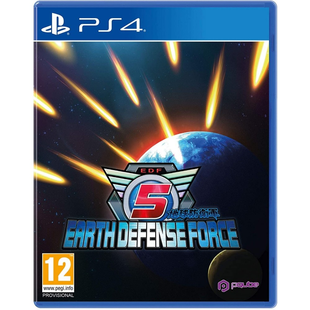 EARTH DEFENSE FORCE 5 PS4 FR OCCASION