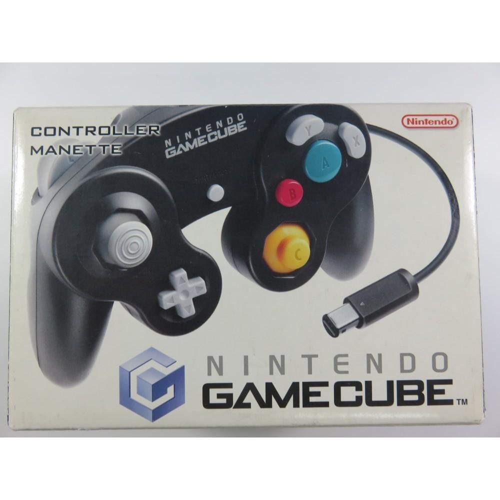 CONTROLLER GAMECUBE NOIRE EN BOITE (GOOD CONDITION)