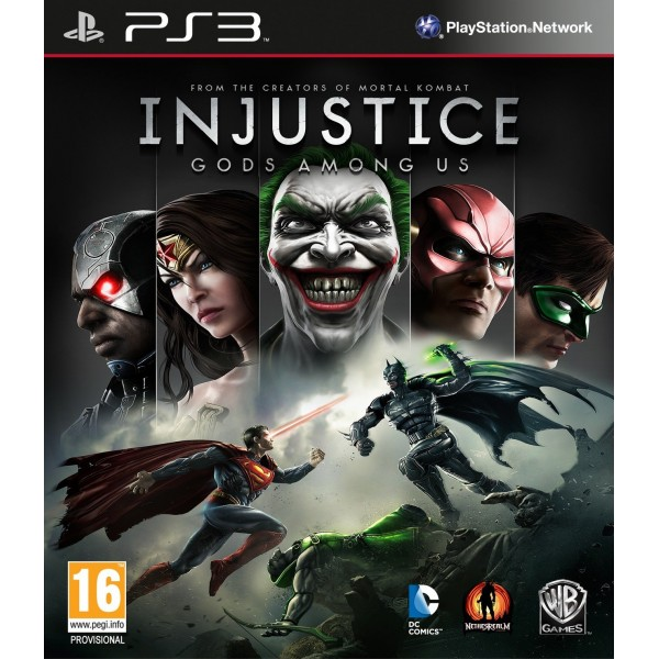 INJUSTICE PS3 FR OCCASION