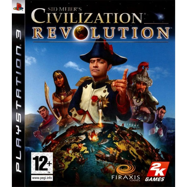 CIVILIZATION REVOLUTION PS3 FR OCCASION