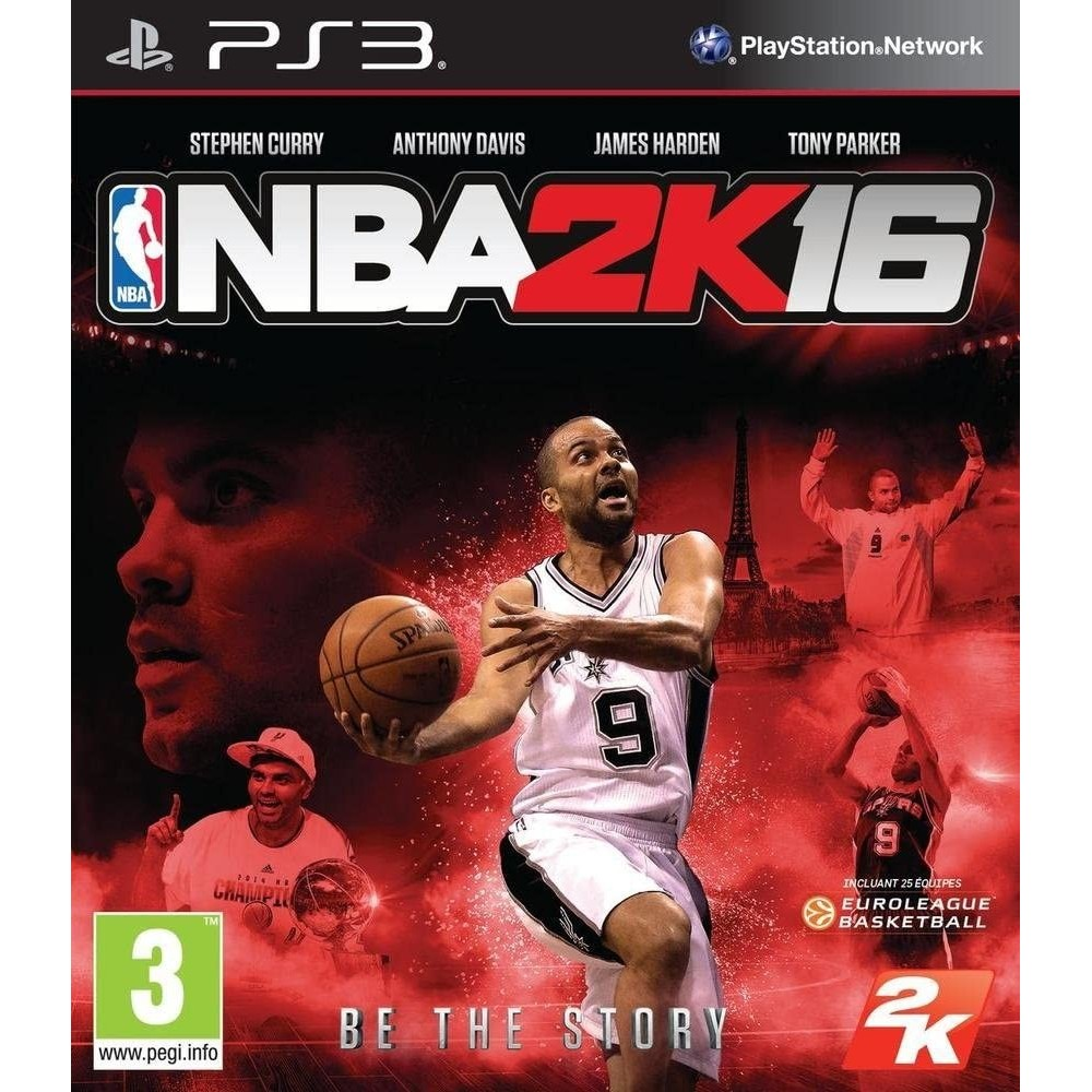 NBA 2K16 PS3 FR OCCASION