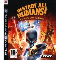 DESTROY ALL HUMANS EN ROUTE VERS PANAME PS3 FR OCCASION