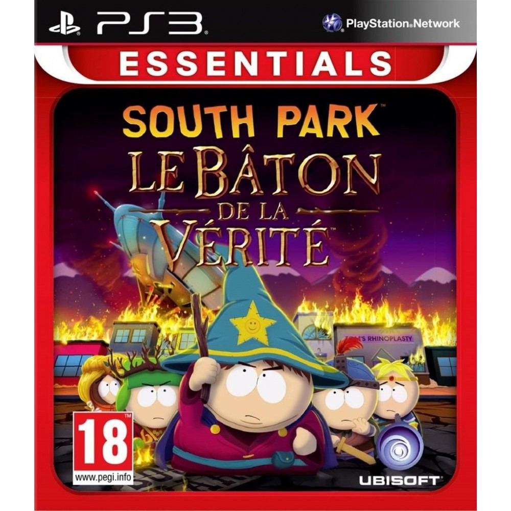 SOUTH PARK LE BATON DE LA VERITE ESSENTIALS PS3 FR OCCASION