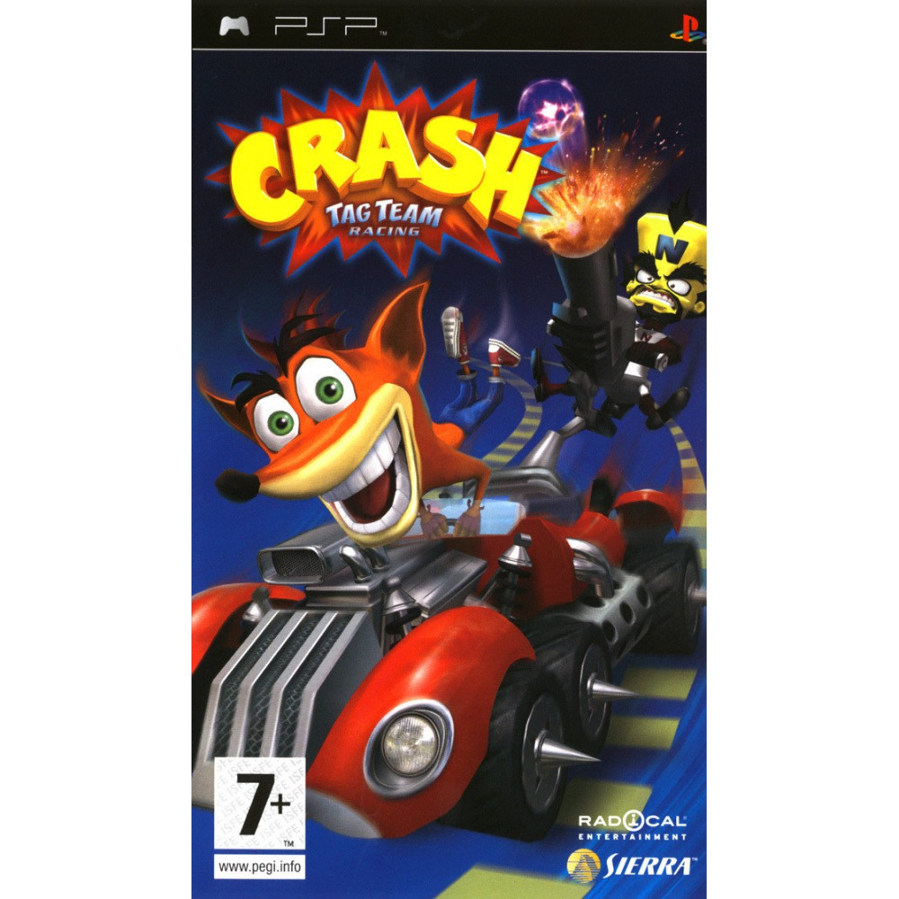 CRASH TAG TEAM RACING PSP FR OCCASION