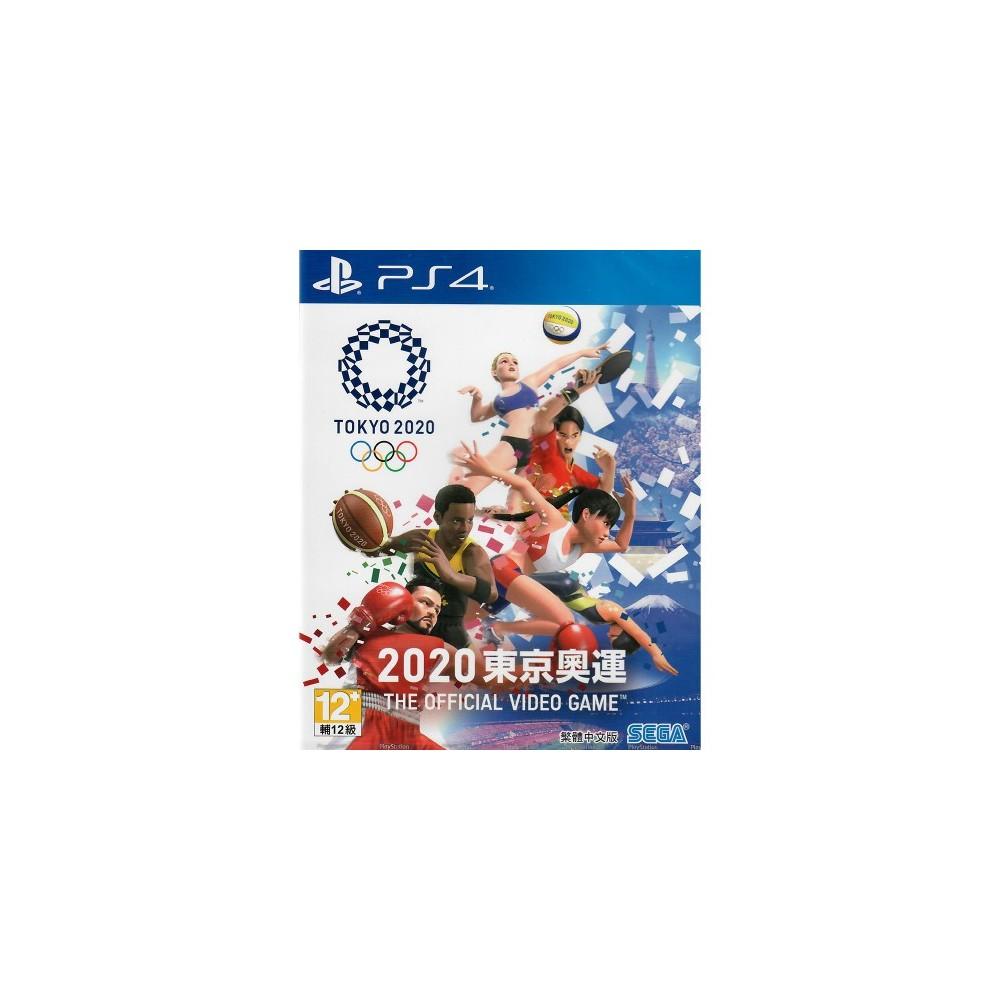 TOKYO 2020 THE OFFICIAL VIDEO GAME PS4 ASIAN AVEC TEXTE EN ANGLAIS NEW