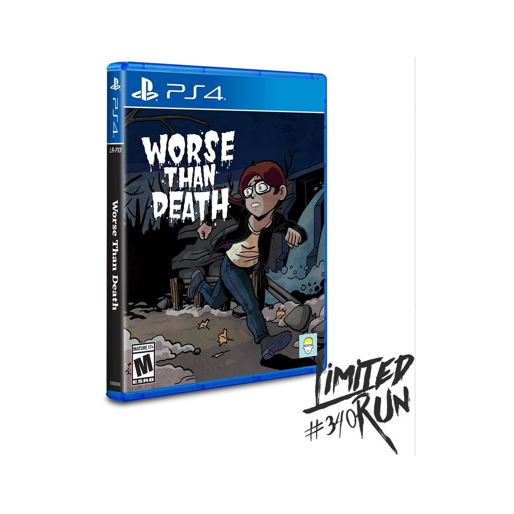 WORSE THAN DEATH PS4 US NEW(LIMITED RUN COLLECTION)