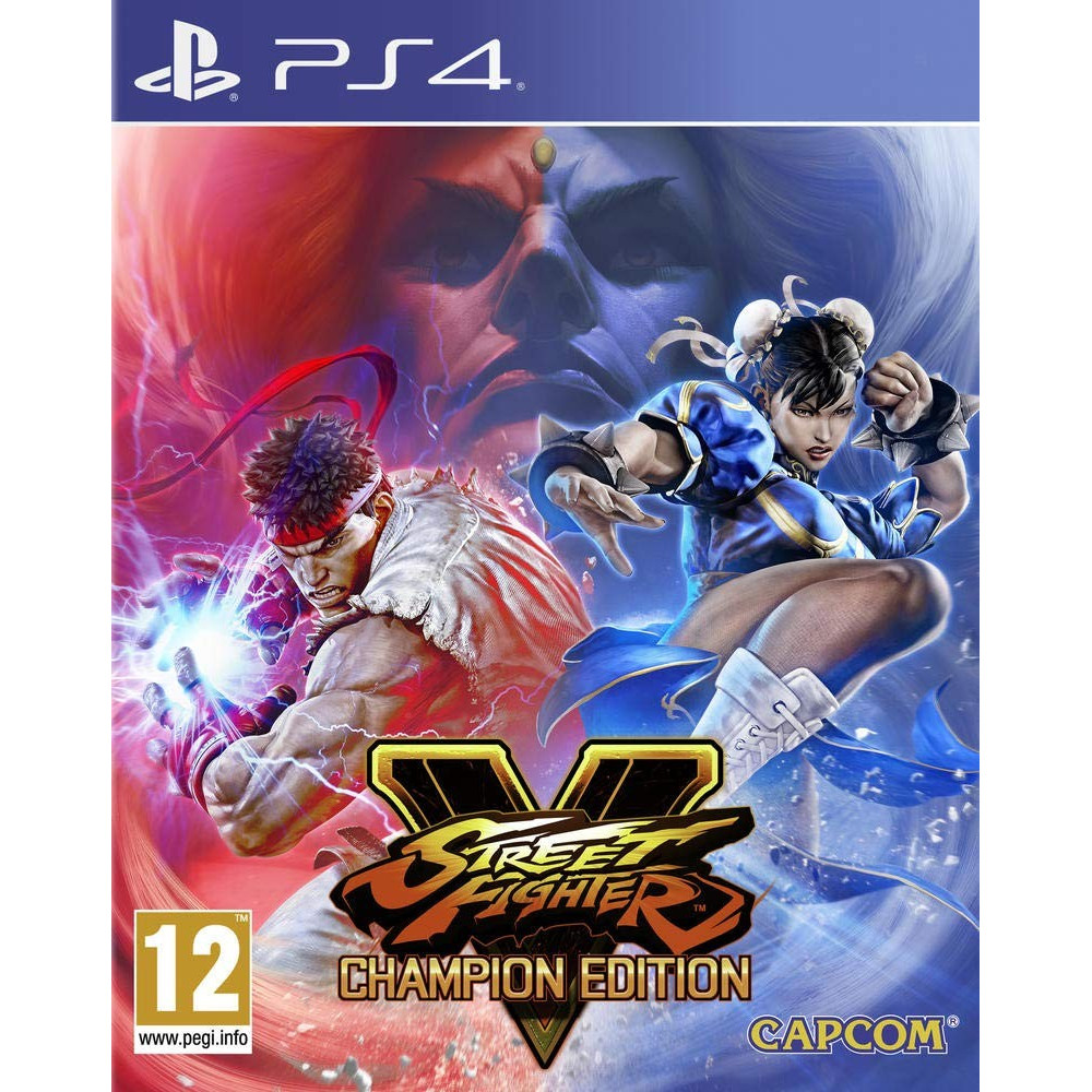 STREET FIGHTER V CHAMPION EDITION PS4 UK OCCASION