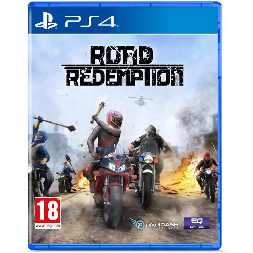 ROAD REDEMPTION - PS4 FR Preorder