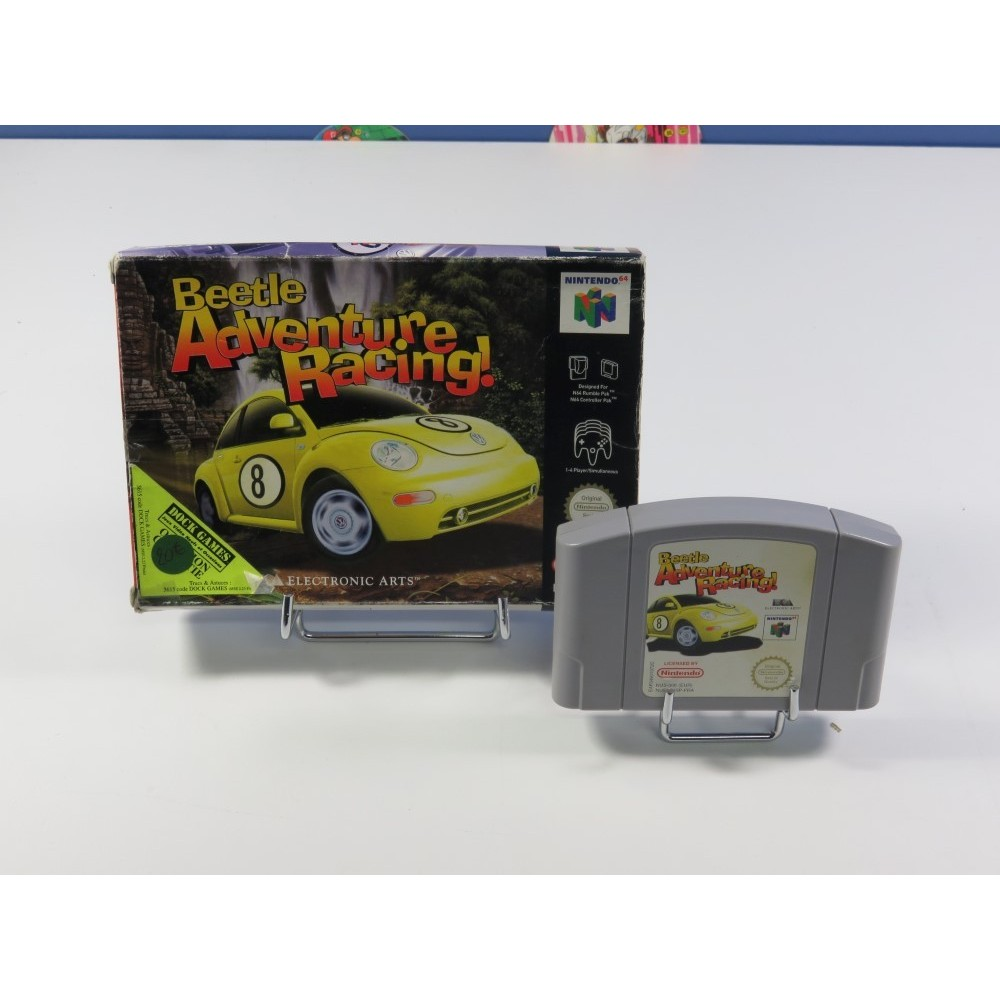 BEETLE ADVENTURE RACING! NINTENDO 64 (N64) PAL-FRA (SANS NOTICE - GOOD CONDITION OVERALL)