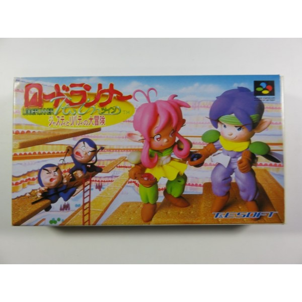 LODE RUNNER TWIN JUSTY TO LIBERTY NO DAIBOUKEN SUPER FAMICOM NTSC-JPN
