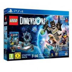 LEGO DIMENSIONS STARTER PACK SUPERGIRL PS4 PAL-FR NEW