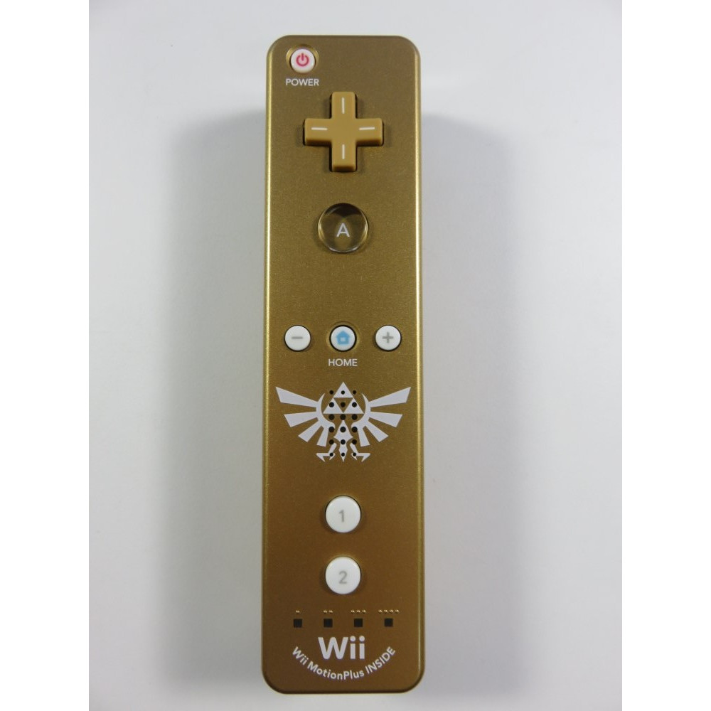 CONTROLLER WIIMOTE + MOTION PLUS ZELDA OR OCCASION