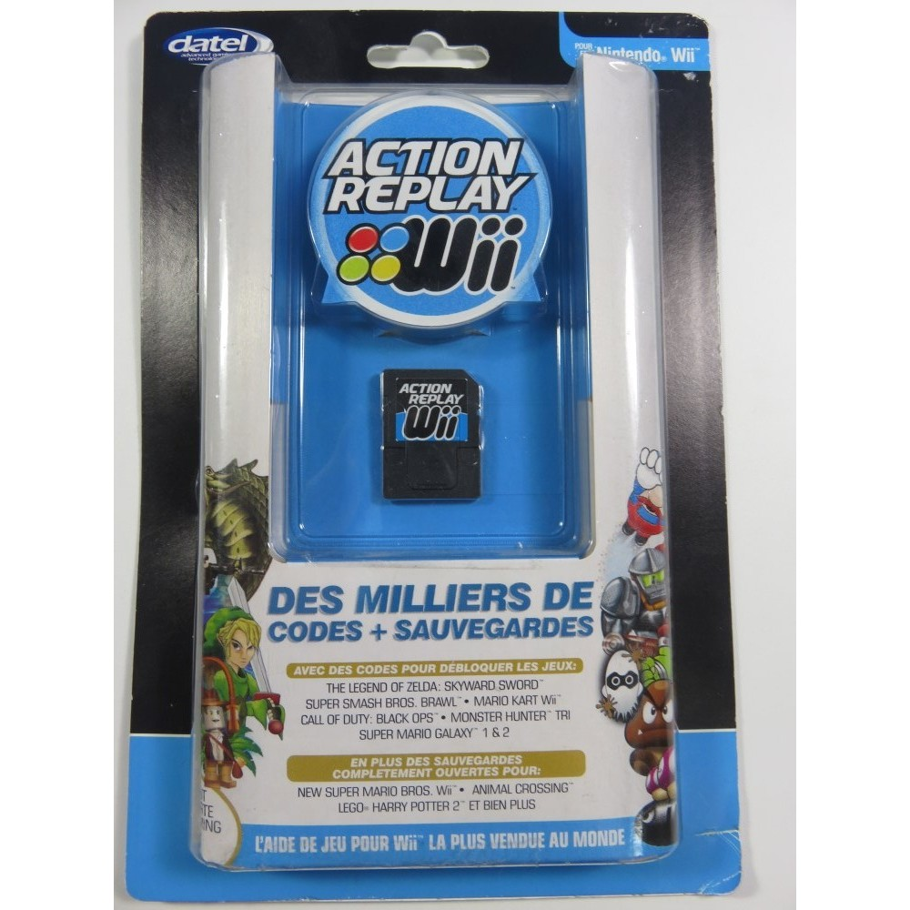 ACTION REPLAY WII NEW