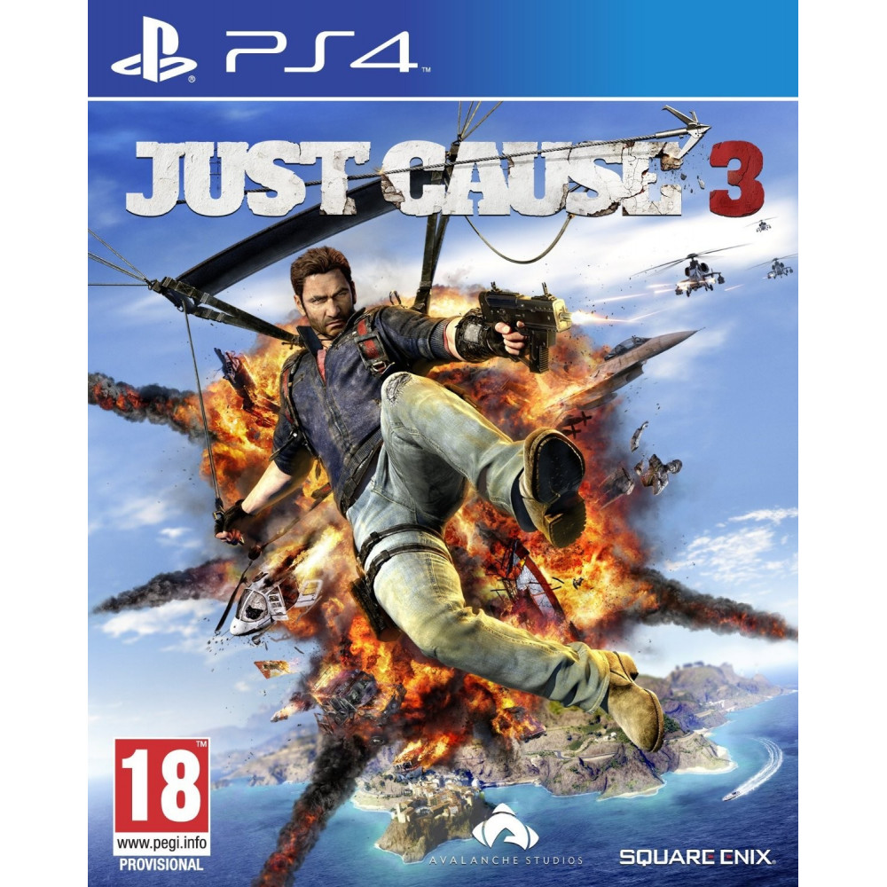 JUST CAUSE 3 PS4 UK OCCASION