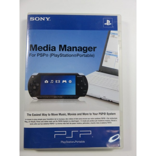 MEDIA MANAGER FOR PSP EURO OCCASION