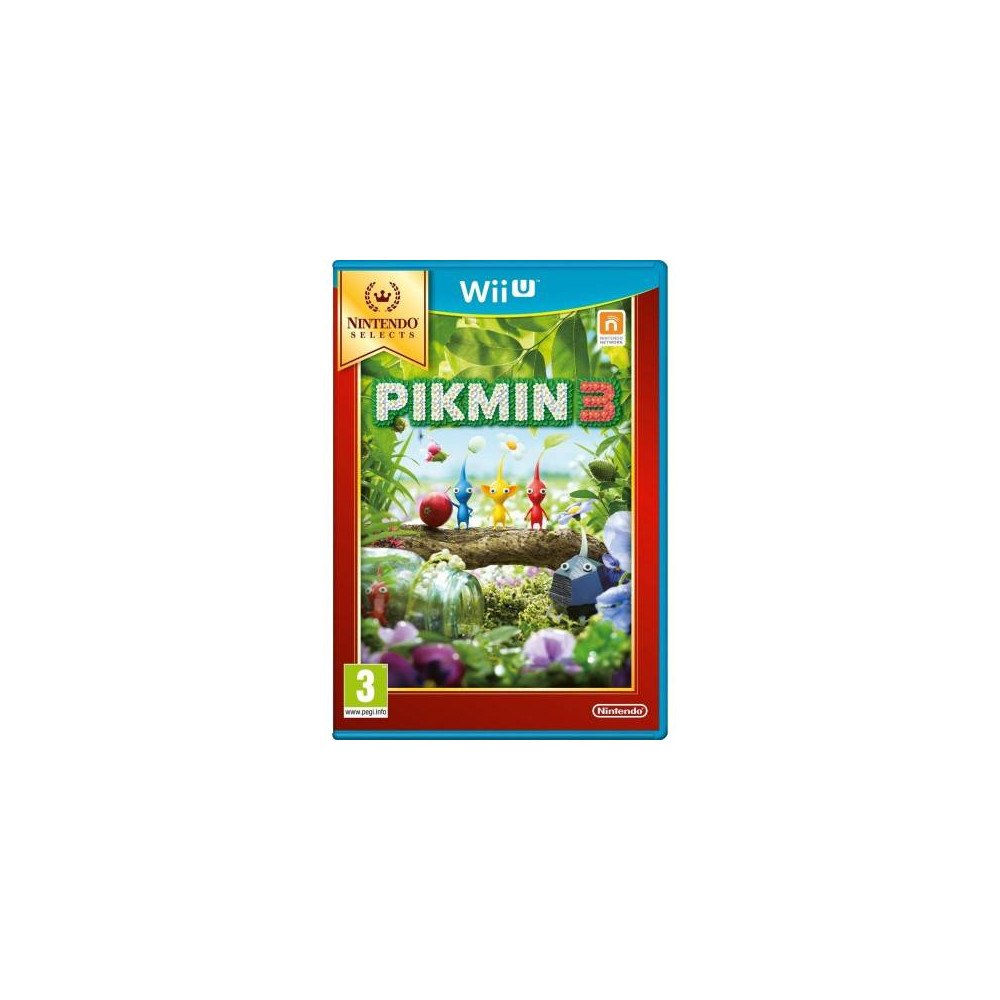 PIKMIN 3 NINTENDO SELECTS WIIU FR NEW