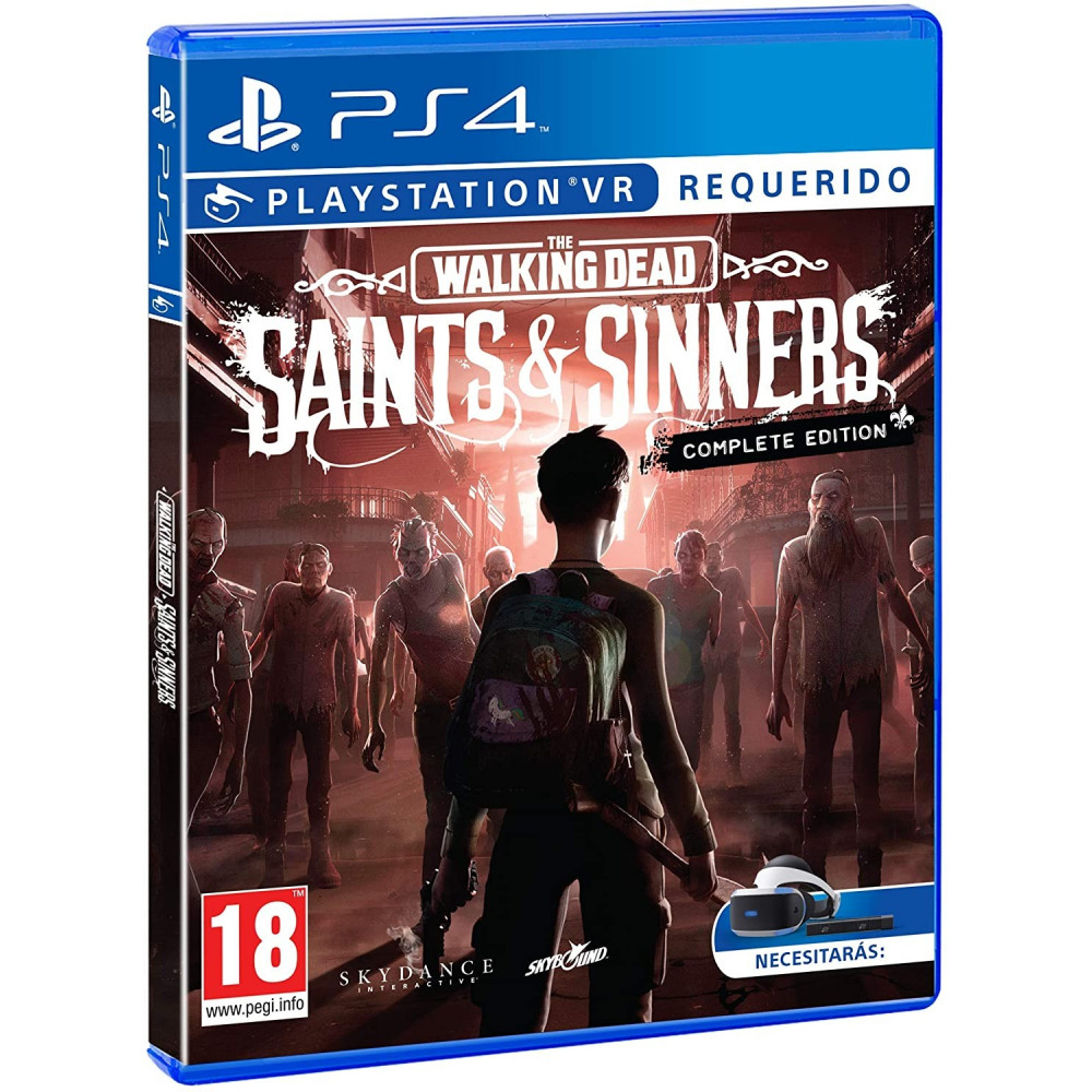 THE WALKING DEAD SAINTS & SINNERS COMPLETE EDITION VR PS4 FR NEW