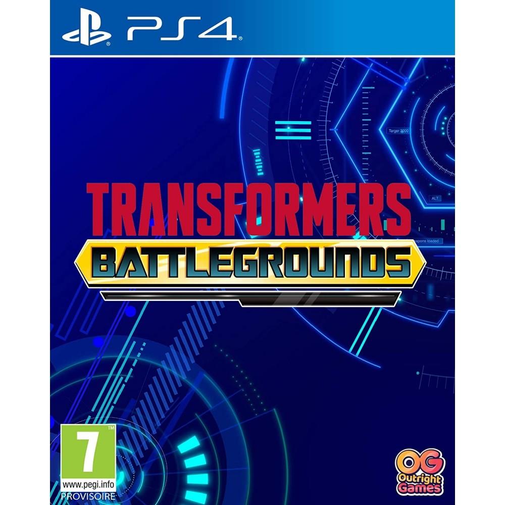 TRANSFORMERS BATTLEGROUNDS PS4 FR NEW
