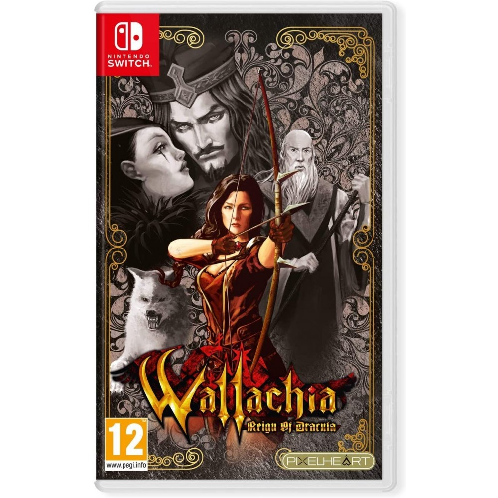 WALLACHIA REIGN OF DRACULA SWITCH FR NEW(JUST LIMITED GAME)
