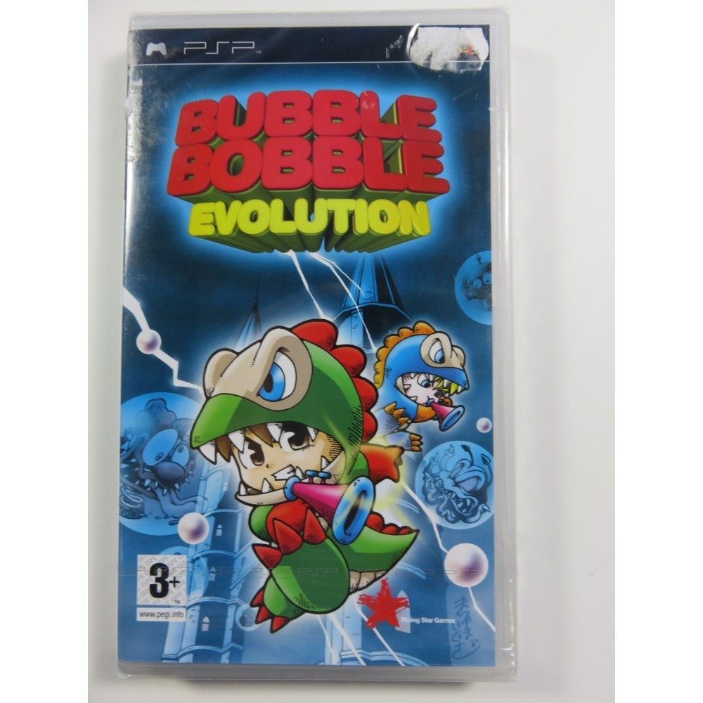 BUBBLE BOBBLE EVOLUTION PSP PAL-EURO NEW