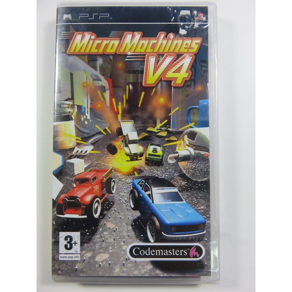 MICRO MACHINES V4 PSP EURO NEW