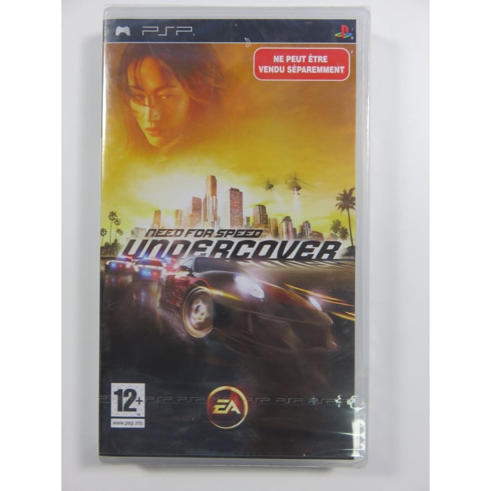 NEED FOR SPEED UNDERCOVER PSP FR NEW