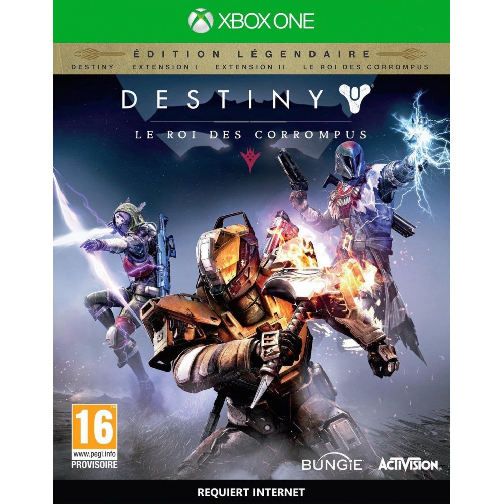 DESTINY EDITION LEGENDAIRE XONE FR NEW