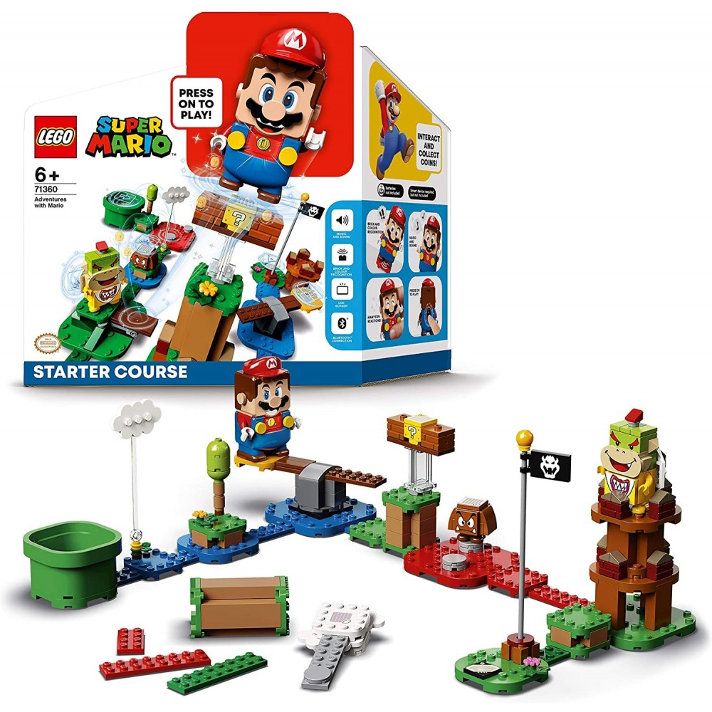 LEGO 71360 PACK DE DEMARRAGE AVENTURES SUPER MARIO NEW