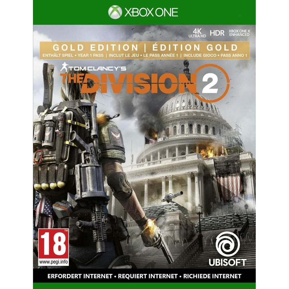 THE DIVISION 2 EDITION GOLD XONE FR NEW