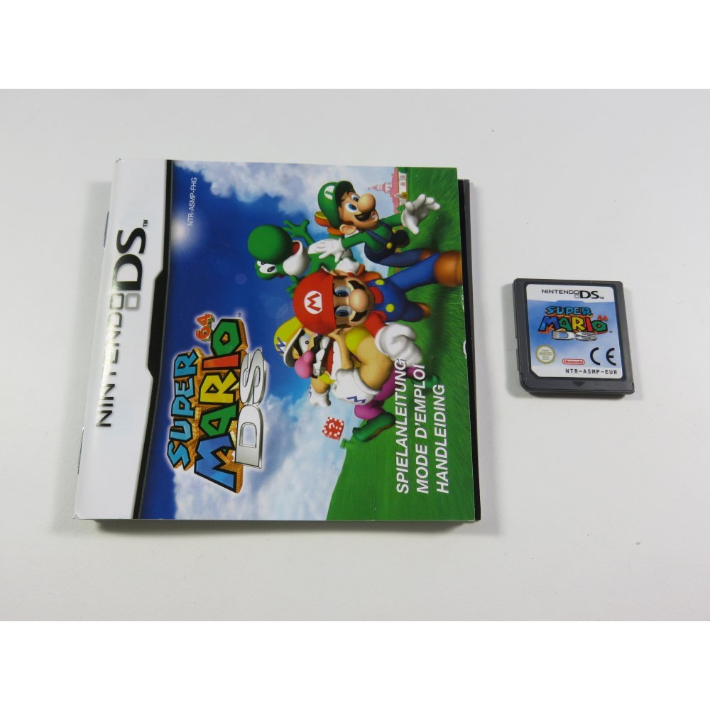 SUPER MARIO 64 NDS EUR (LOOSE - GOOD CONDITION) (WITH MANUAL)
