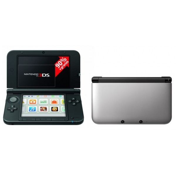 CONSOLE 3DS XL GRISE EURO OCCASION