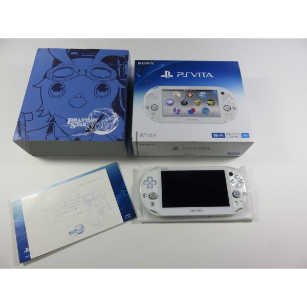 CONSOLE PSVITA PHANTASY STAR NOVA JAPAN (COMPLETE - GOOD CONDITION )