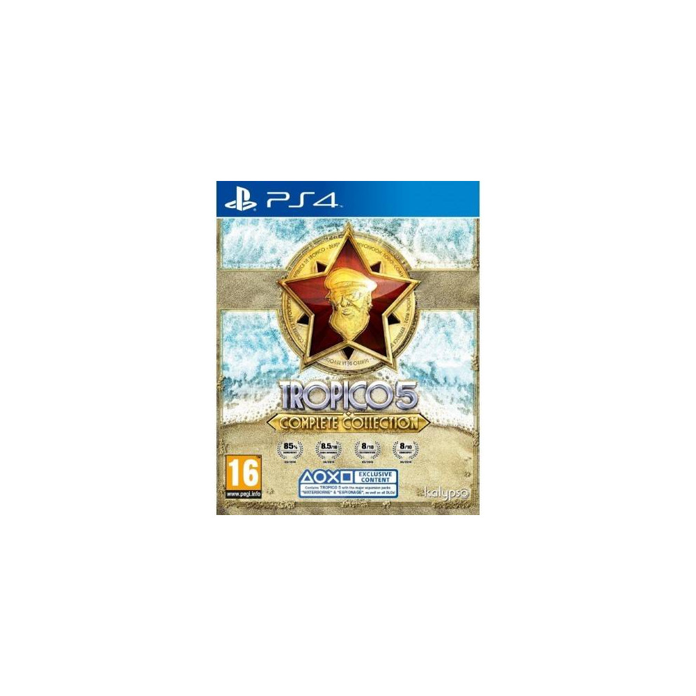 TROPICO 5 : THE COMPLETE COLLECTION PS4 PAL-FR NEW