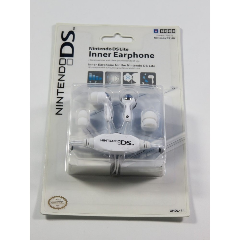 HORI DS LITE INNER EARPHONES - ECOUTEURS INTRA AURICULAIRE NEUF - BRAND NEW