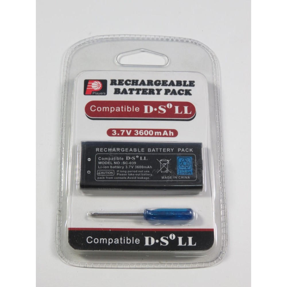 RECHARGEABLE BATTERY PACK NINTENDO DSI XL (LL) NEUF - BRAND NEW