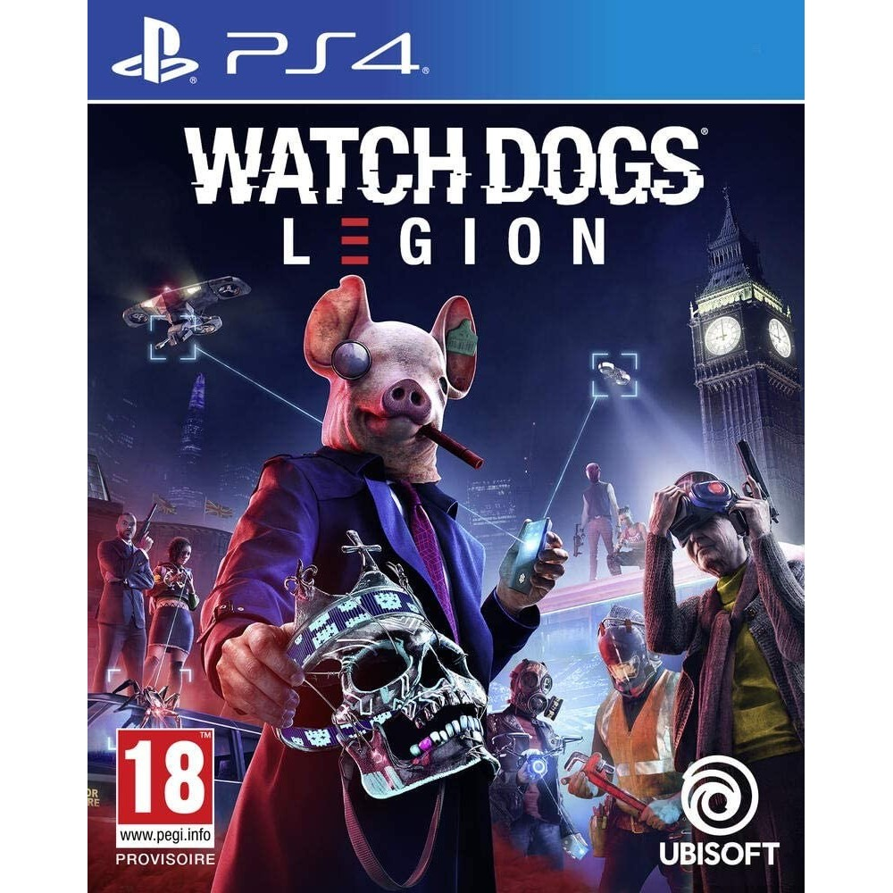 WATCH DOGS LEGION - PS4 FR Précommande