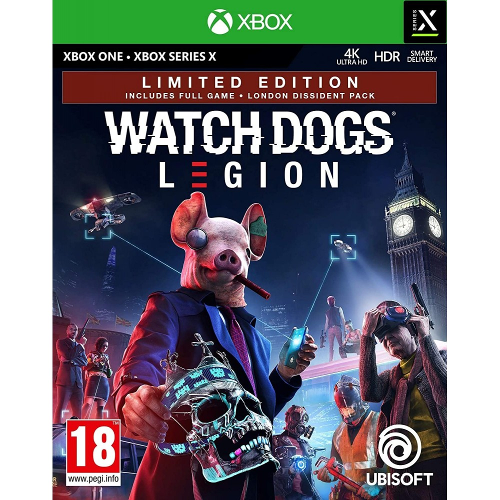 WATCH DOGS LEGION XBOX ONE FR NEW