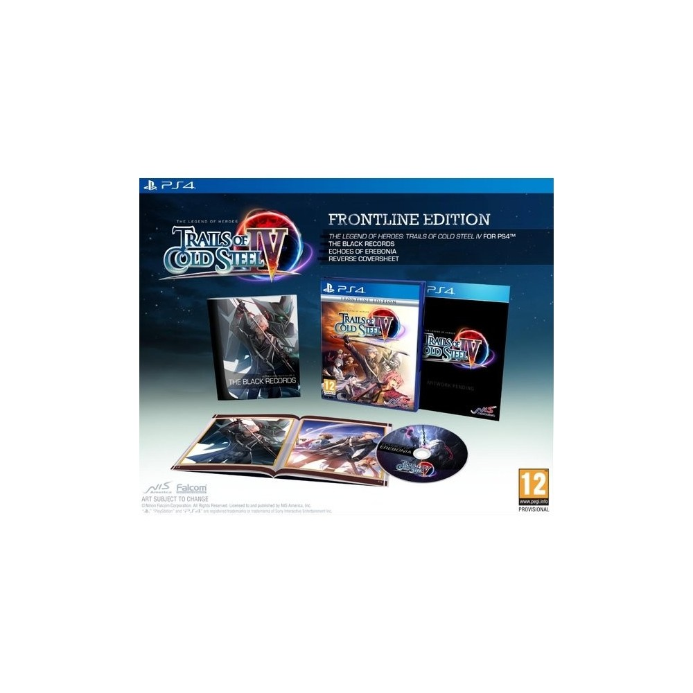 THE LEGEND OF HEROES TRAILS OF COLD STEEL 4 FRONTLINE EDITION PS4 FR NEW