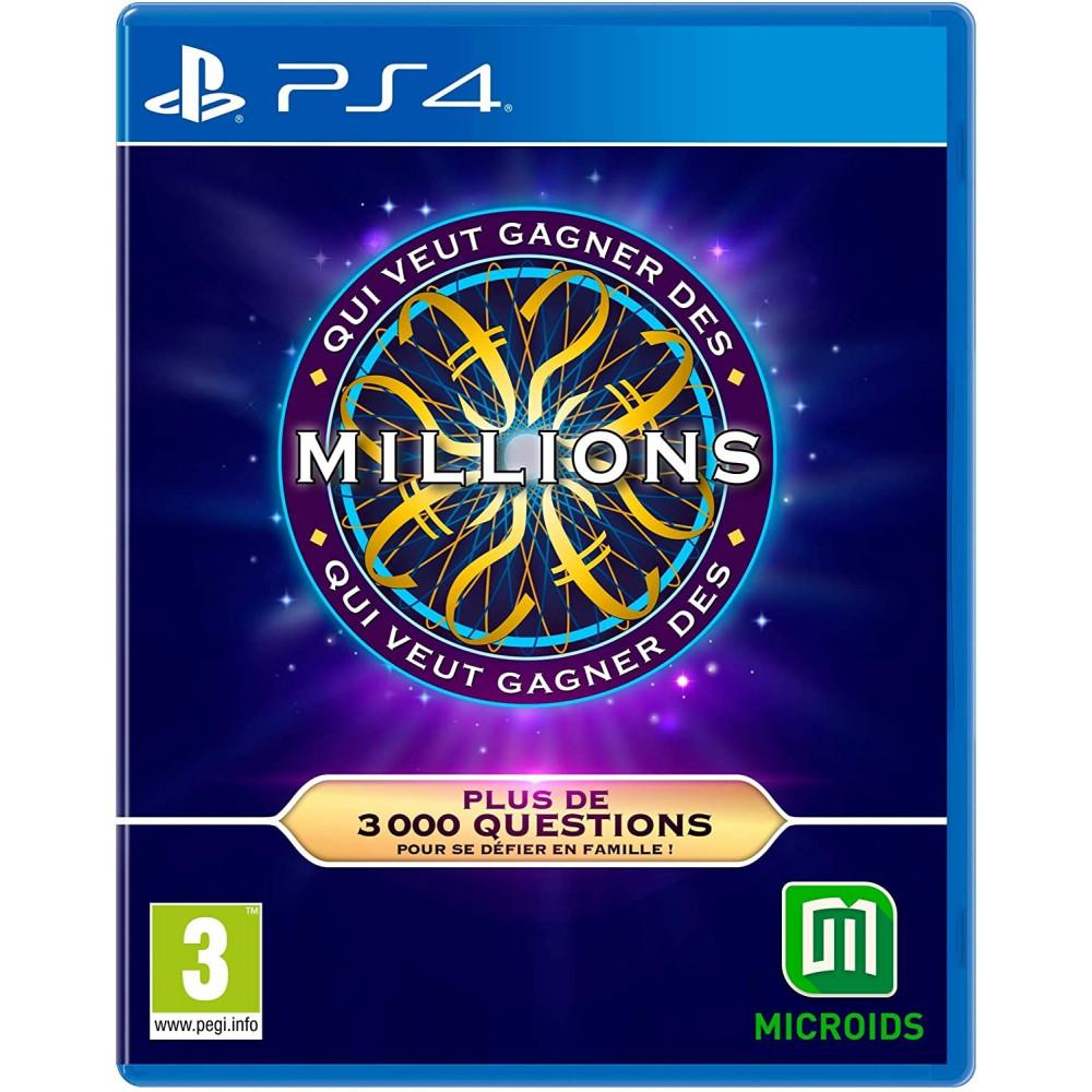 QUI VEUT GAGNER DES MILLIONS PS4 FR NEW