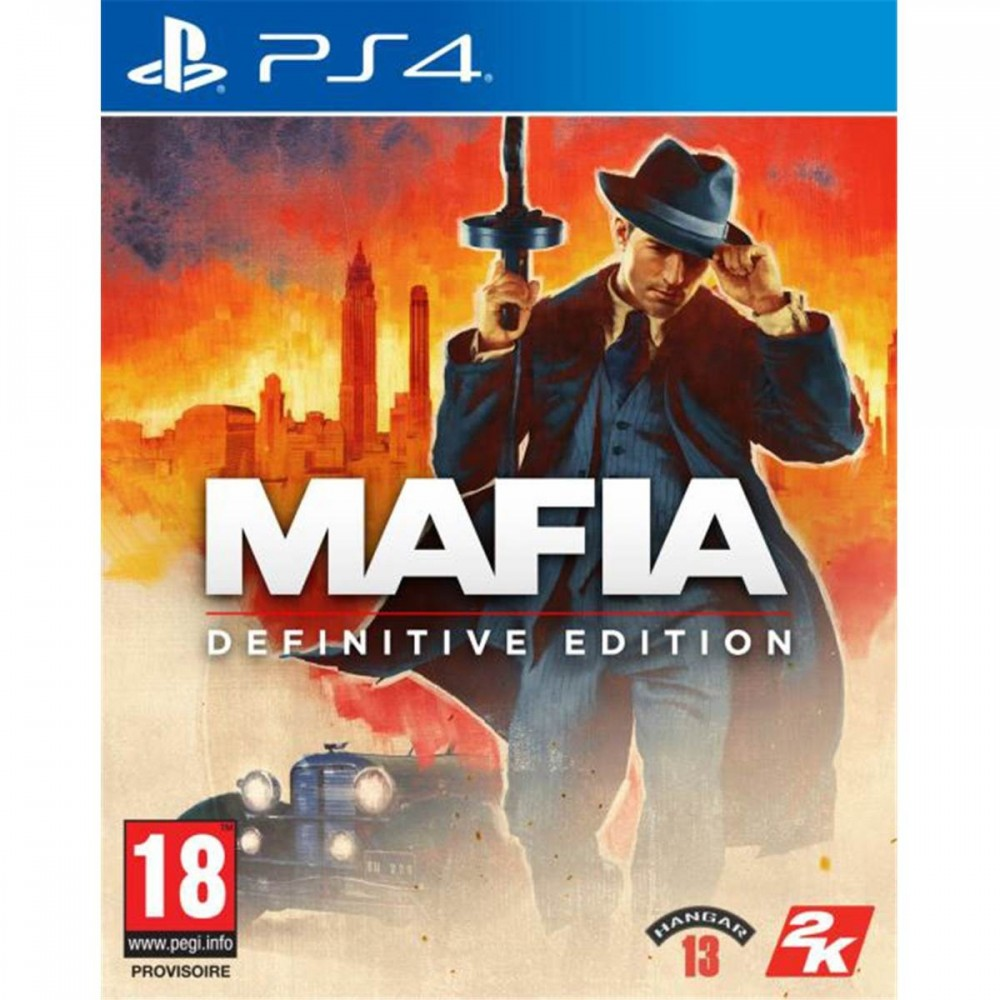 MAFIA DEFINITIVE EDITION PS4 EURO FR OCCASION