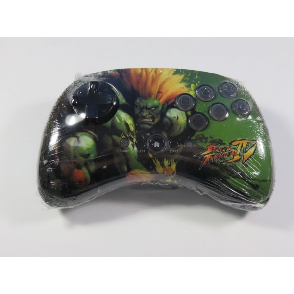 FIGHTPAD WIRELESS SUPER STREET FIGHTER IV BLANKA PLAYSTATION 3 (PS3) EURO (LOOSE - GOOD CONDITION)