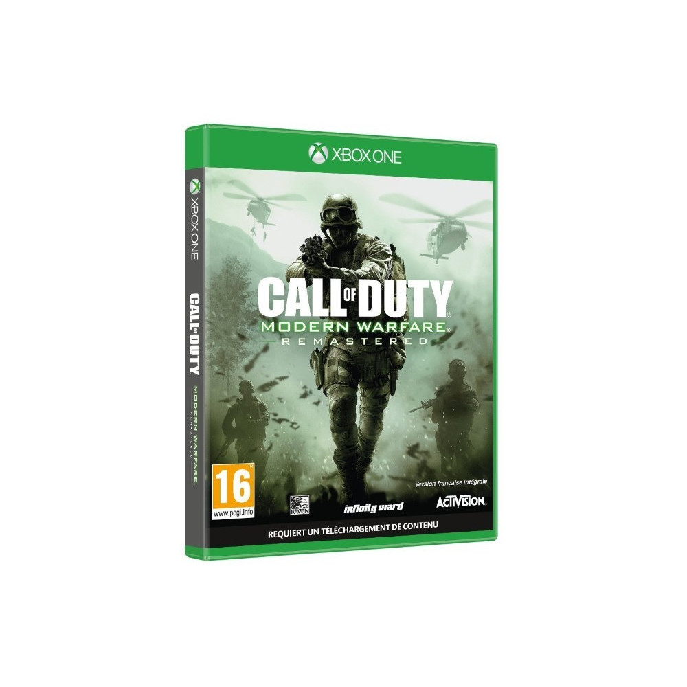 CALL OF DUTY MODERN WARFARE REMASTERED XBOX ONE FR OCCASION