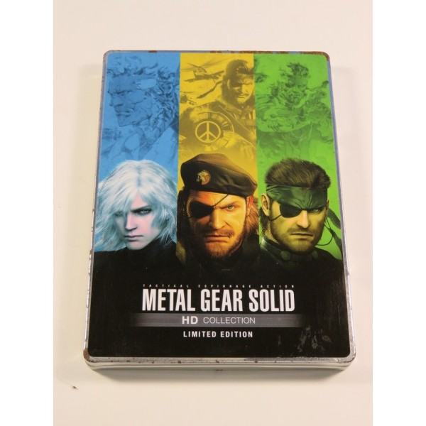 STEELBOOK METAL GEAR SOLID 3 HD COLLECTION (SANS JEU) PLAYSTATION 3 (PS3) (LOOSE)