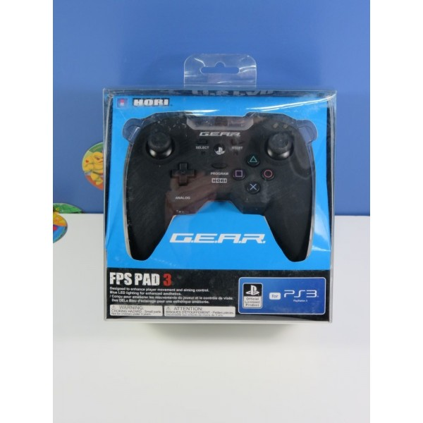 CONTROLLER - MANETTE HORI GEAR FPS PAD 3 PLAYSTATION 3 (PS3) EURO NEUF - BRAND NEW