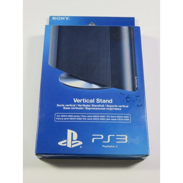 VERTICAL STAND - SOCLE VERTICAL FOR PS3 ULTRA SLIM CECH-4000 SERIES PLAYSTATION 3 (PS3) EURO NEUF - BRAND NEW