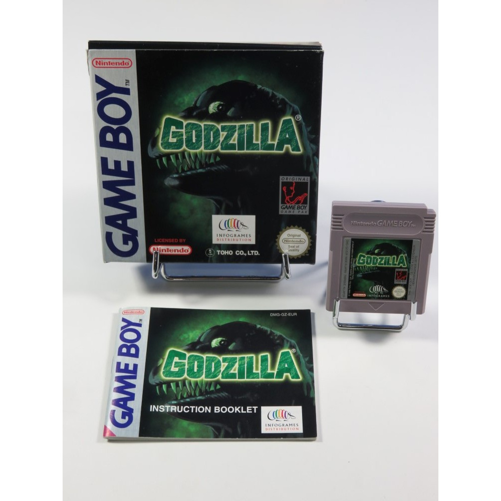 GODZILLA GAMEBOY EUR (COMPLET - VERY GOOD CONDITION)